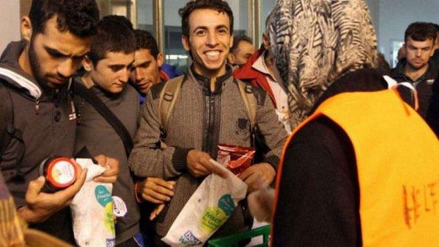 Сирійські мігранти з Угорщини дісталися Мюнхена