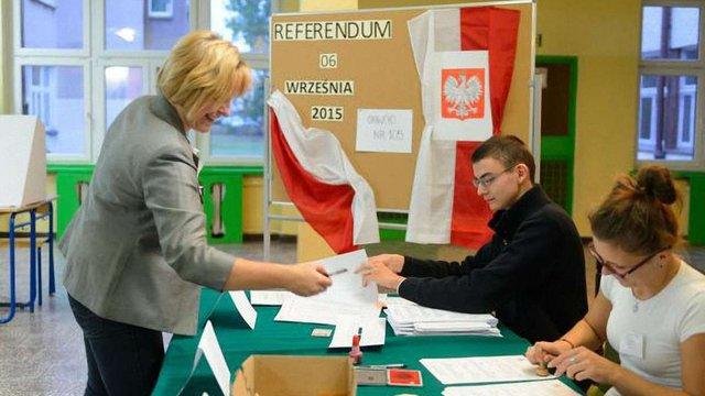 У Польщі проходить загальнонаціональний референдум з трьох питань