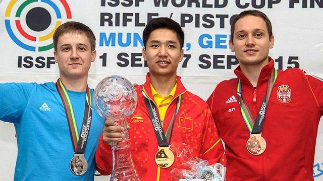 Львівський спортсмен здобув срібло на Кубку світу з кульової стрільби