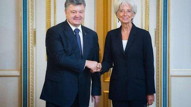 Питання чергового траншу від МВФ  для України вирішуватиметься у жовтні