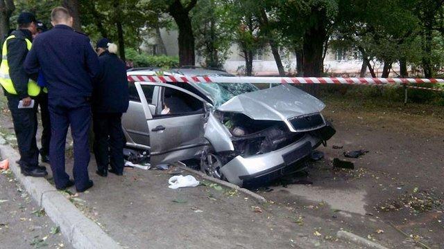 У Львові в ДТП постраждав водій із собакою