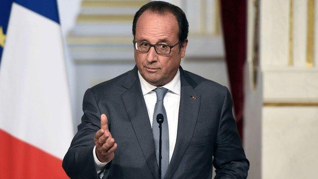 Президент Франції - за скасування антиросійських санкцій після врегулювання ситуації в Україні