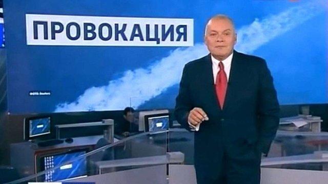 Російський пропагандист Дмитро Кисельов подав до суду на Раду ЄС