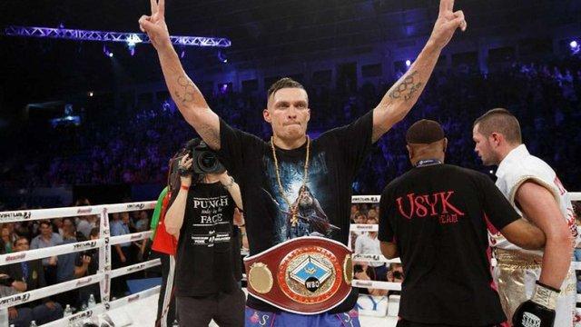 Боксер Олександр Усик опинився на 11-му місці у рейтингу WBC