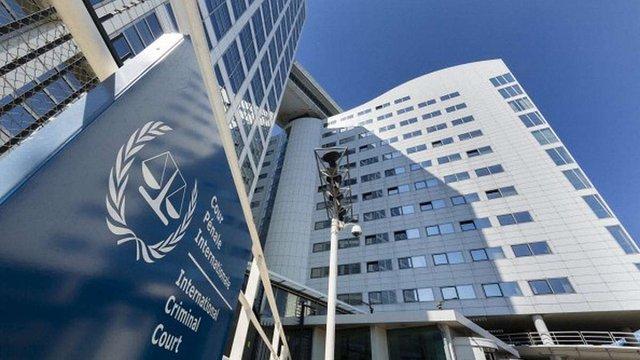 Україна визнала юрисдикцію Гаазького трибуналу щодо воєнних злочинів на Донбасі