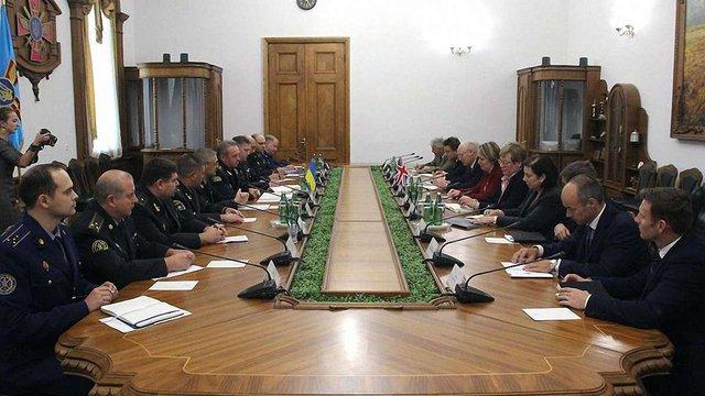 Начальник Генштабу ЗСУ обговорив подальшу співпрацю із представником штабу ЗС Великобританії