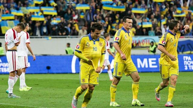 Євро-2016: збірна Україна внічию зіграла зі Словаччиною