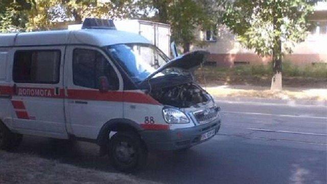 У Львові зламалася «швидка», яка приїхала до збитого автомобілем пішохода