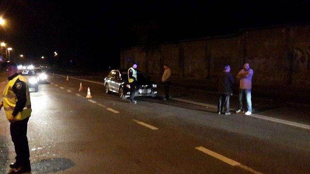 У Львові на переході водій Skoda Superb збив жінку