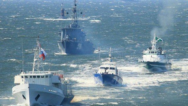 У Росії по тривозі підняли Балтійський флот