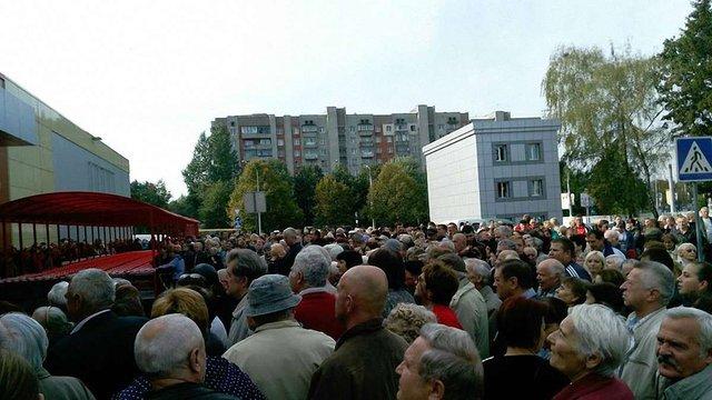 Львів'яни влаштували «чорну п'ятницю» на відкритті нового «Ашану»