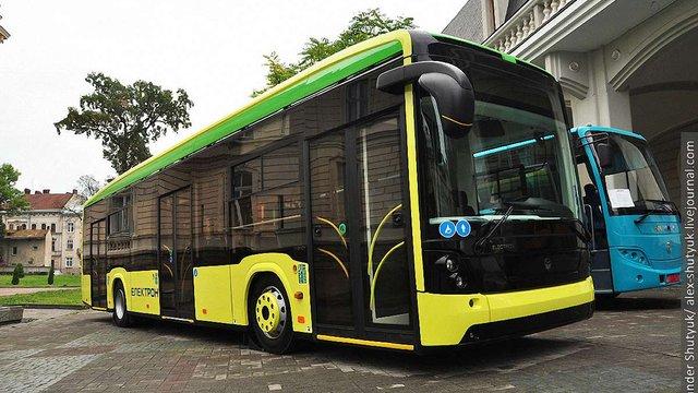 Львівська мерія придбає 10 нових автобусів «Електрон» за ₴36 млн