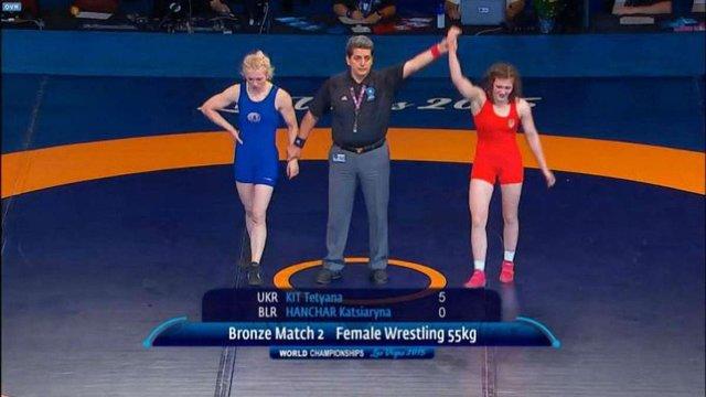 Українки завоювали бронзові медалі чемпіонату світу з боротьби