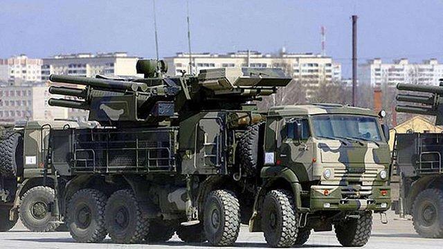 Росія постачає до Сирії модернізовані зенітно-ракетні системи «Панцир С1», - Reuters