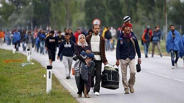 У найближчі вихідні Німеччина очікує напливу 40 тис. біженців