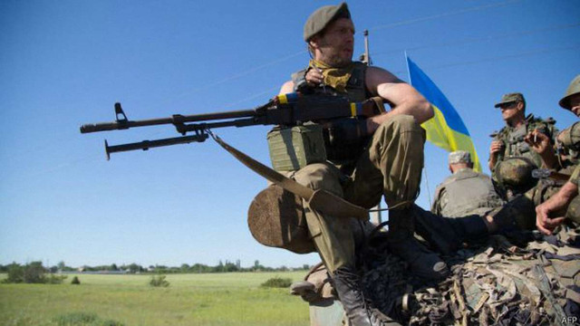 Минулої доби українських військових у зоні АТО обстріляли 5 разів