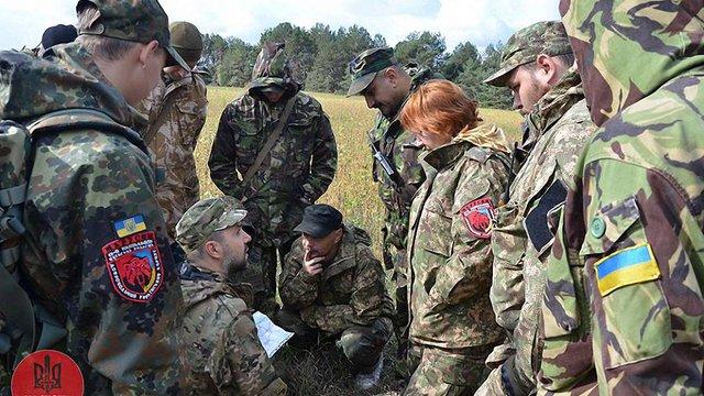 Підрозділ Марусі Звіробій вийшов з «Правого сектору» і приєднався до 79-ї бригади ЗСУ