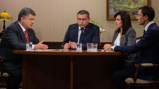 Порошенко: Україна вперше виконує усі зобов'язання перед МВФ
