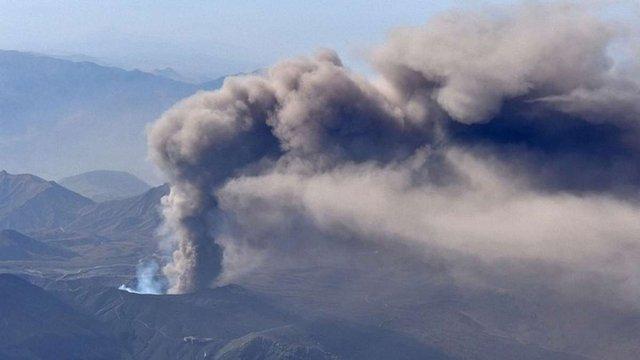 В Японії активізувався найбільший вулкан