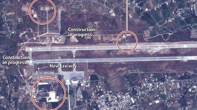 Американська розвідка оприлюднила супутникові знімки російської бази в Сирії