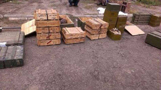 СБУ знайшла на Луганщині найбільшу від початку АТО схованку зі зброєю (фото, відео)