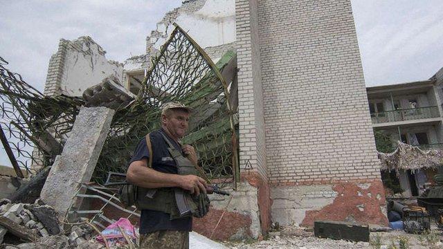 Селище Логвинове повністю знищене в результаті бойових дій, - ОБСЄ