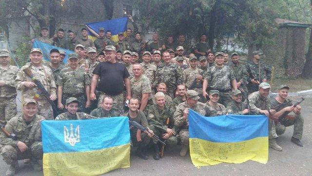 Із зони АТО повернулася чергова група міліціонерів із Львівщини