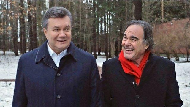 Олівер Стоун зніме Путіна у фільмі про Януковича