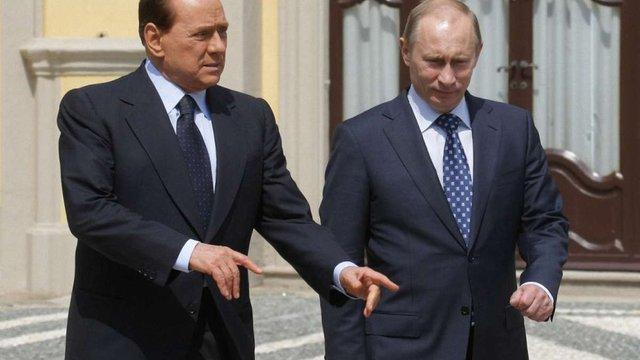 СБУ заборонила в'їзд в Україну екс-прем'єру Італії Сільвіо  Берлусконі