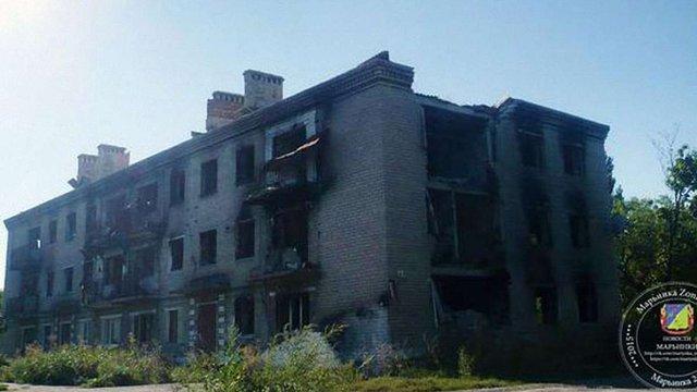 Бойовики обстріляли з артилерії околиці Красногорівки