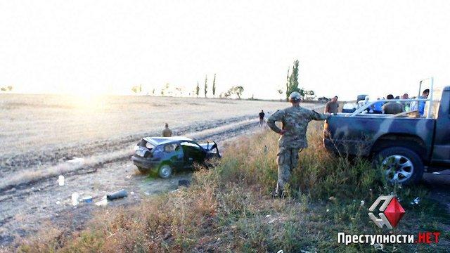 Бійці батальйону «Айдар» потрапили у ДТП під Миколаєвом, є постраждалі
