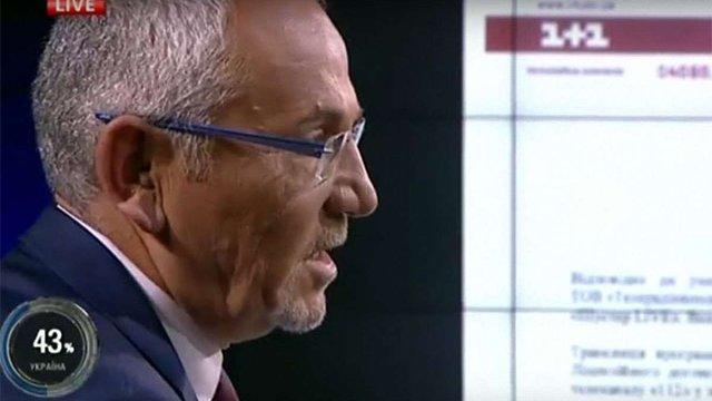 Керівництво каналу «1+1» звинуватило Шустера у порушенні умов ліцензійної угоди (відео)