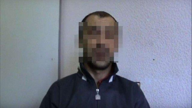 На Донеччині затримали коригувальника вогню терористів (відео)