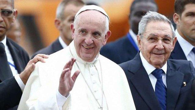Папа Римський прибув з офіційним візитом на Кубу