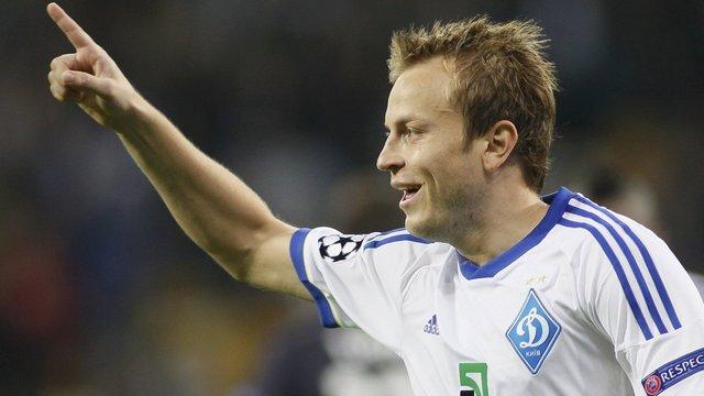 Півзахисник «Динамо» Олег Гусєв забив сотий у кар'єрі гол