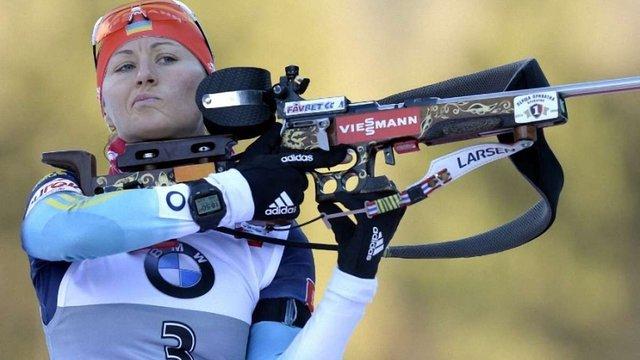 Біатлоністка Віта Семеренко пропустить старт сезону через травму