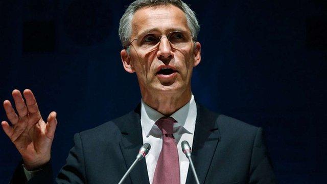 Голова фракції «Самопоміч» зустрівся із генеральним секретарем НАТО
