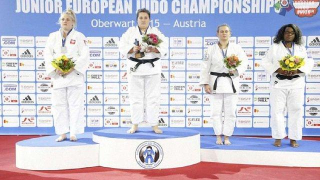 Львів'янка Василина Кириченко стала чемпіонкою Європи з дзюдо