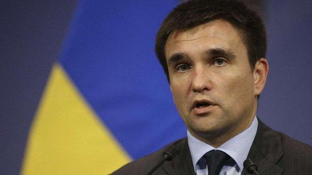 Росія до кінця року має повернути Україні контроль над кордоном, – Клімкін