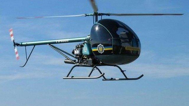 У Кременчуці під час навчального польоту впав вертоліт