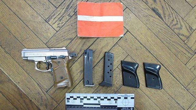 У Києві затримали продавця зброї