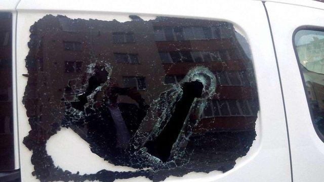В Івано-Франківську розбили авто доньки кандидата на мера від «Самопомочі»