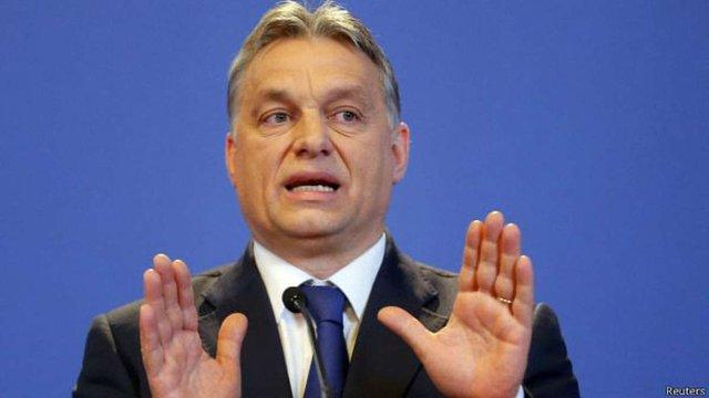 Віктор Орбан звинуватив керівництво Німеччини в «моральному імперіалізмі»