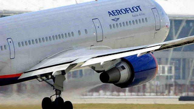 Україна заборонила польоти всіх російських авіакомпаній