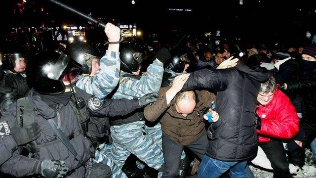 Арештували колишнього командира «Беркуту» за злочинні накази проти Майдану
