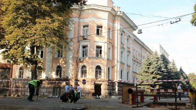 Підрив обласного управління СБУ в Одесі завдав численних руйнувань іншим будинкам (фото)