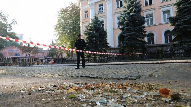 Біля будівлі Одеської СБУ завжди чергували міліціонери, які перед терактом зникли– очевидці
