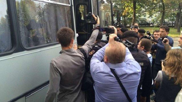 У Москві затримали учасників  «Маршу миру»