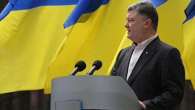 Порошенко заявив, що переселенці обов'язково повернуться додому