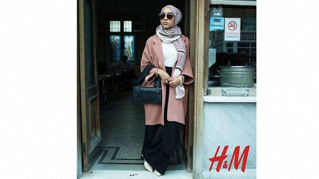 Н&М вперше зняв у рекламі модель у хіджабі